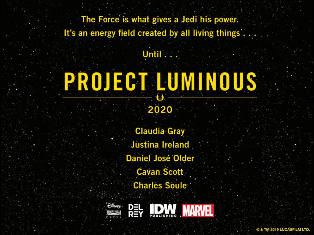 Star Wars Project Luminous- The High Republic