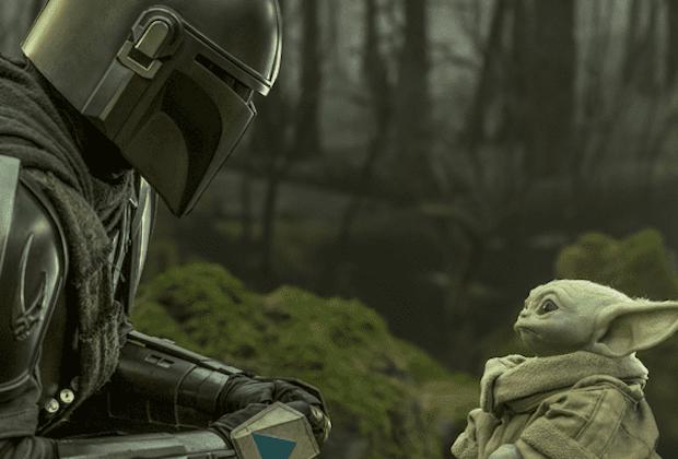 Mando e Baby Yoda
