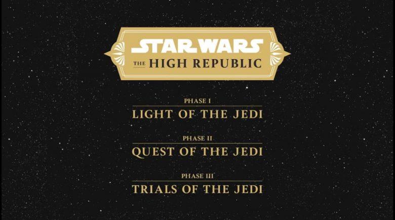 The High Republic fasi editoriali