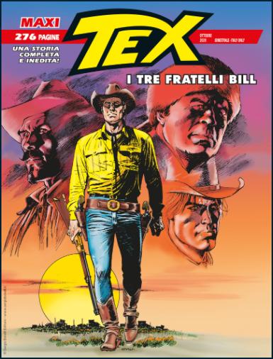 Tex Maxi 27 - I tre fratelli Bill