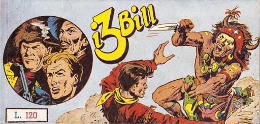 Le strisce dei tre Bill