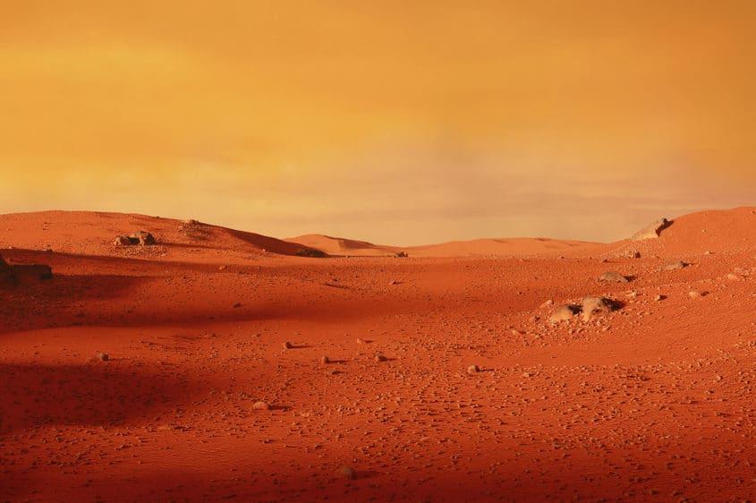 Il deserto marziano