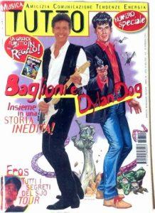 Baglioni e Dylan Dog